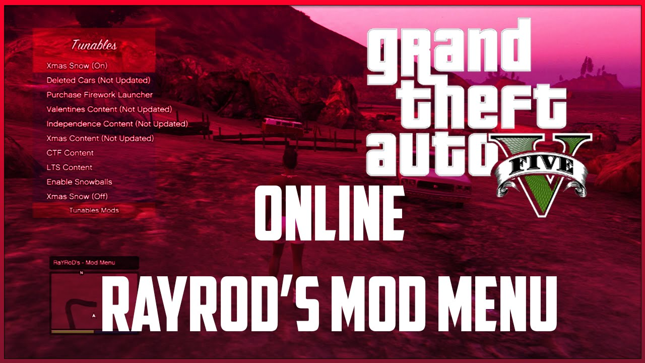 gta 5 how to give people mod mneu