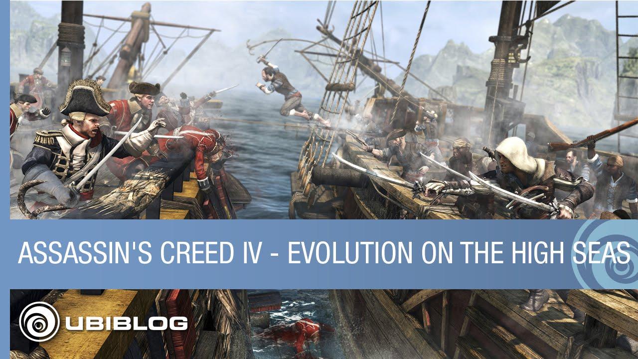 Assassin's Creed IV Black Flag - Evolution on the High ...
