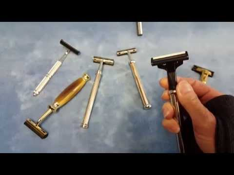 Trac II and Atra Razors - Blade Loading and Overview