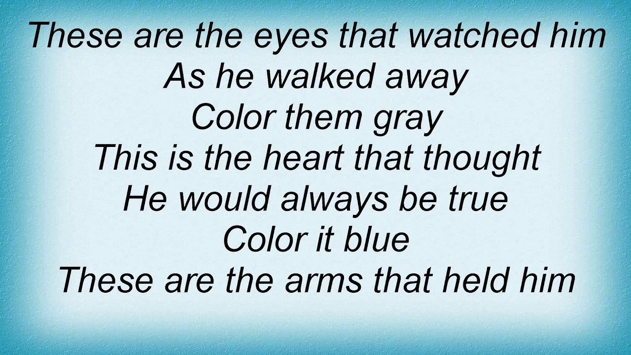 Andy Williams - My Coloring Book Lyrics - YouTube