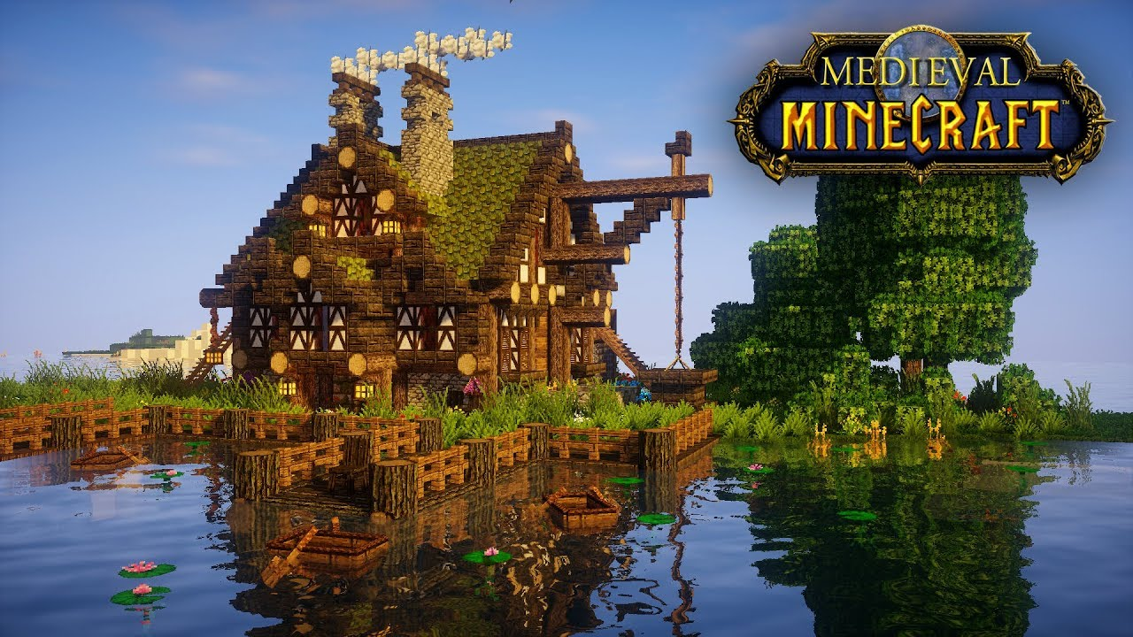 How To Build A Big Medieval House In Minecraft