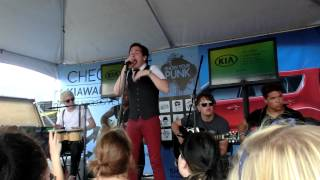 Set It Off - Swan Song - live acoustic - Vans Warped Tour 2013 Buffalo
