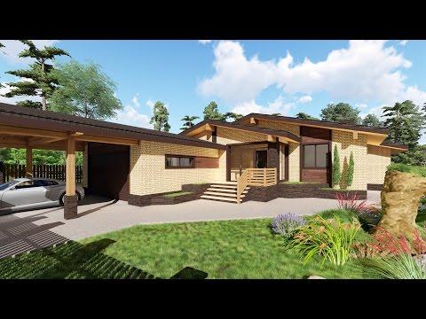 Деревянные дома под ключ, строительство деревянных домов в
