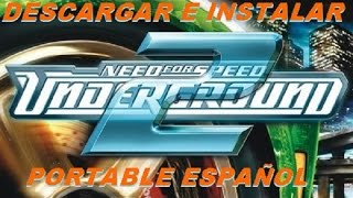 Descargar need for speed underground 2 portable 1 link MF MG 167mb en español 2016 + partida al 100
