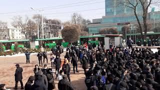 Алматы. Назарбаев пен Тоқаевқа қарсы митинг