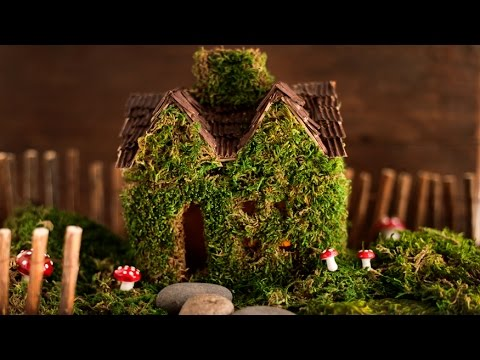 Making A Mossy Fairy House A Simple Diy Craft Tutorial
