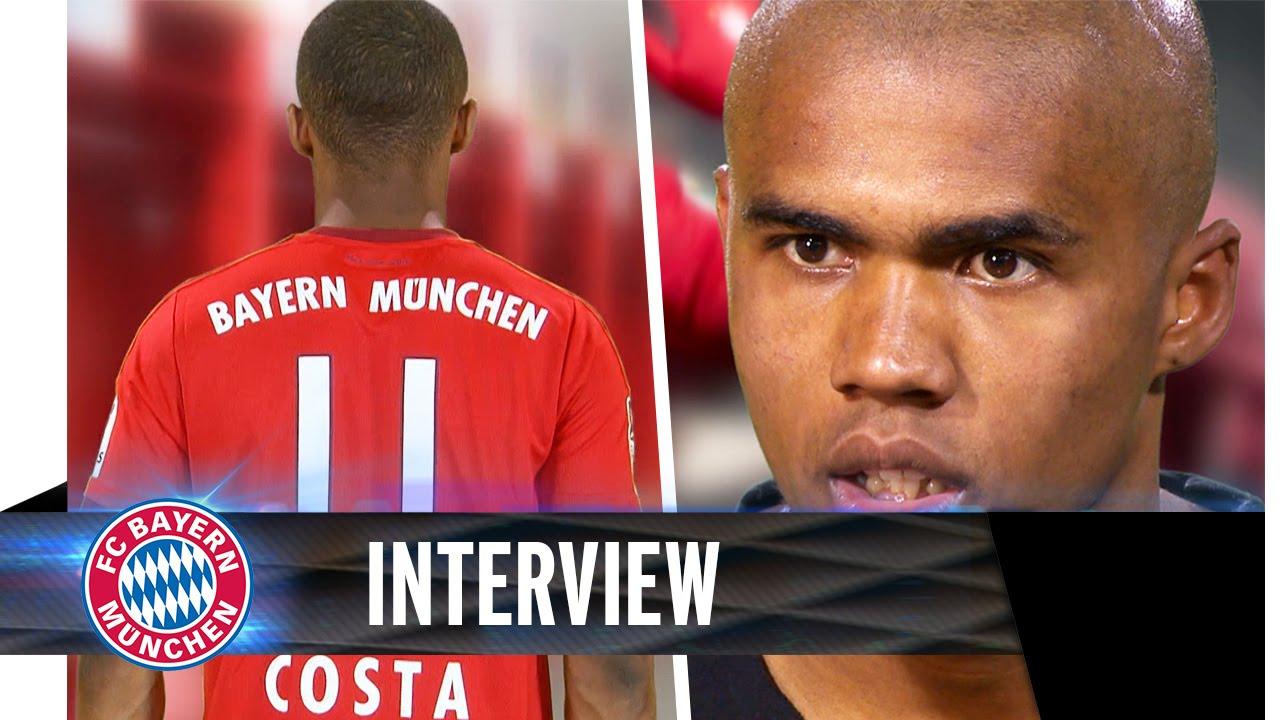 Douglas Costa Interview