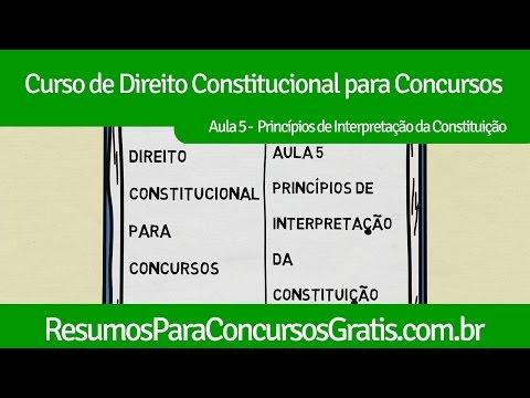 Видео Principio da máxima efetividade da norma constitucuinal
