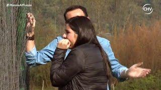 Gambar cover Daniela lloró al ser encarada por Patricio en Manos Al Fuego