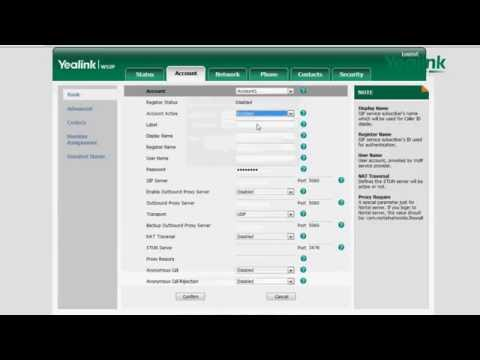 Register Account W52P - YouTube