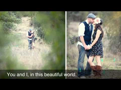 You and I, in this beautiful world