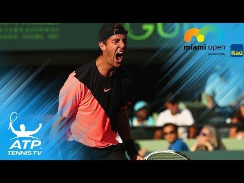 Kokkinakis upsets Federer, Kyrgios & Zverev win through to 3R | Miami Open 2018 Highlights Day 4