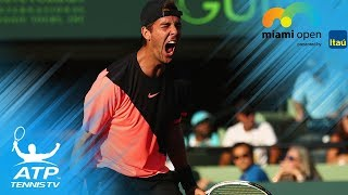Kokkinakis upsets Federer, Kyrgios & Zverev win through to 3R | Miami Open 2018 Highlights Day 4