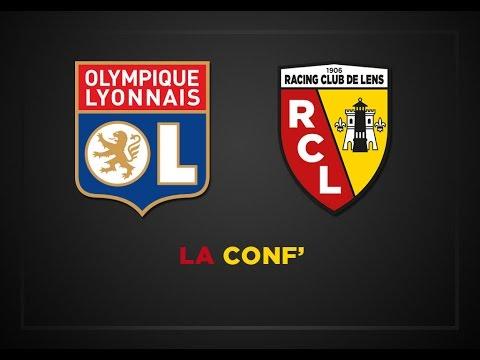 La conférence de presse avant Lyon - Lens