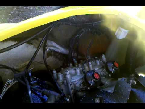Removing remaining water from Hydrolocked Sea-Doo Motor