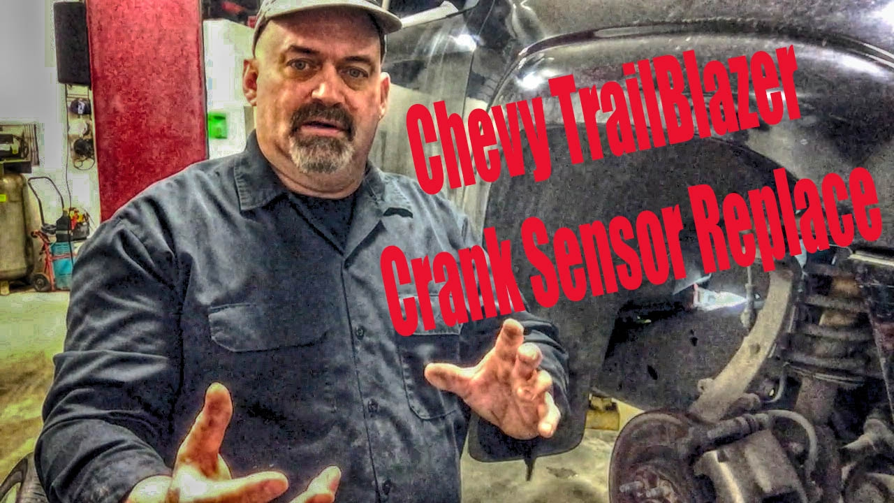 Chevy TrailBlazer Crank Sensor Replace - YouTube