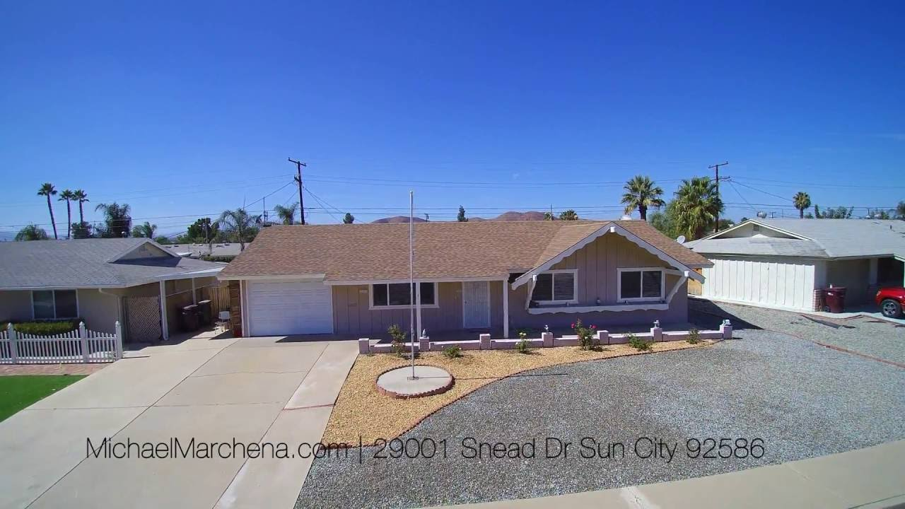 For Sale 55 Community Home For Sale 29001 Snead Dr Sun City Ca