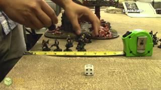 Jay Knight Batrep - Dark Angels vs Chaos Space Marines part 1/3