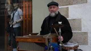 Straßenmusik - Mr. Evergreen - Der Drehorgelmann - Erfurt 2011
