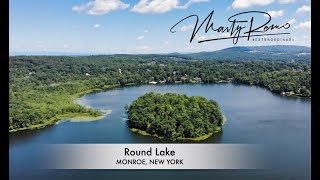 Round Lake in Monroe, New York