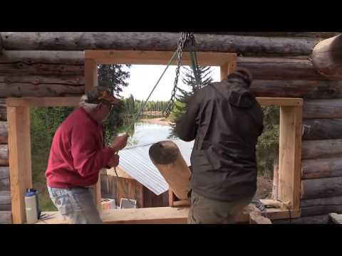 No Man's Land - EP 35 Alaska Dream House Build / Remote Alaska Cabin Part 2