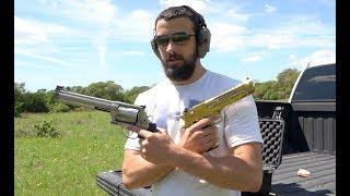 S&W 500 Magnum vs Desert Eagle .50 AE
