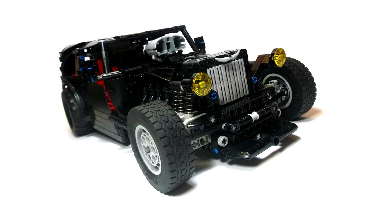 lego technic motorized hot rod youtube. Black Bedroom Furniture Sets. Home Design Ideas
