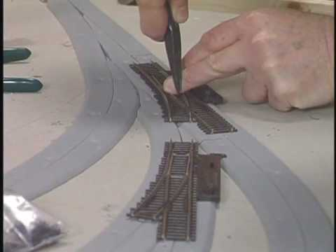 Building a Model Railroad Series #4–Laying Track
