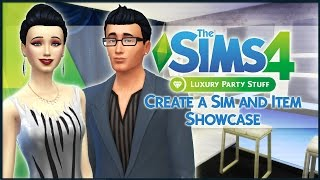 The Sims 4 Luxury Part Stuff - Create a Sim and Item Showcase