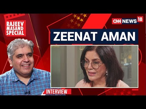 Zeenat Aman Interview With Rajeev Masand