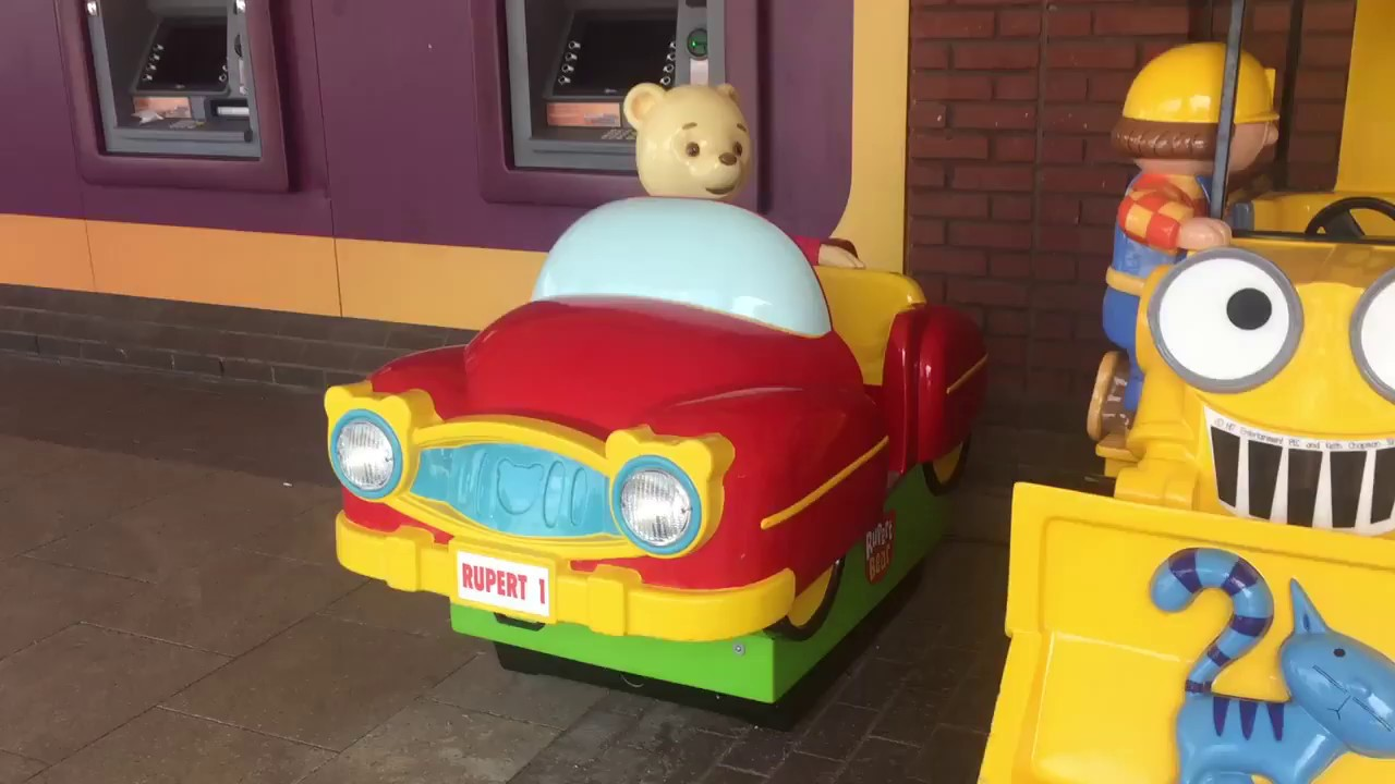 Jolly Roger Rupert Bear Kiddie Ride & Jolly Roger Rupert Bear Kiddie Ride - YouTube