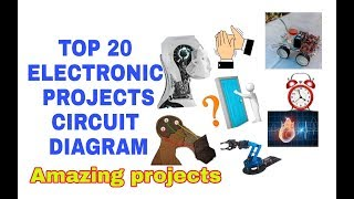 TOP20 electronic project circuit diagrams, all projects in one video