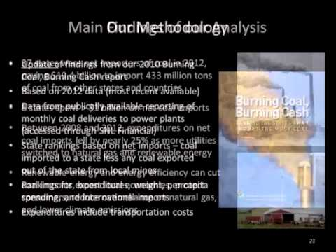 SACE Webinar: The Costs of Importing Coal and Relying on Coal-Fired Energy in the Southeast