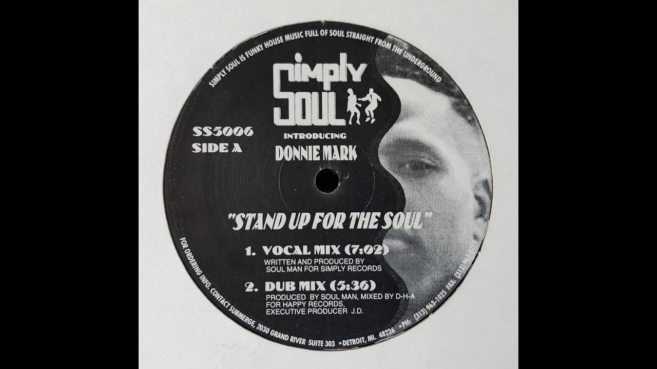Donnie Mark / Terrence Parker - Stand Up For The Soul (Maslow Unknown Edit)