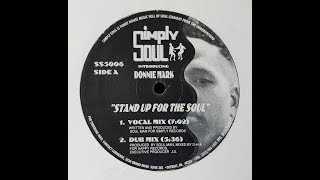 Gambar cover Donnie Mark / Terrence Parker - Stand Up For The Soul (Maslow Unknown Edit)