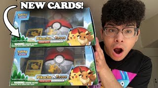OPENING THE *NEW* POKEMON CARD COLLECTION BOX OF PIKACHU & EEVEE! (Lost Thunder Packs!)