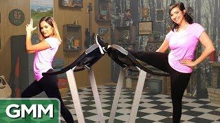 Treadmill Dance Challenge ft. Gabbie Hanna & Chachi Gonzales