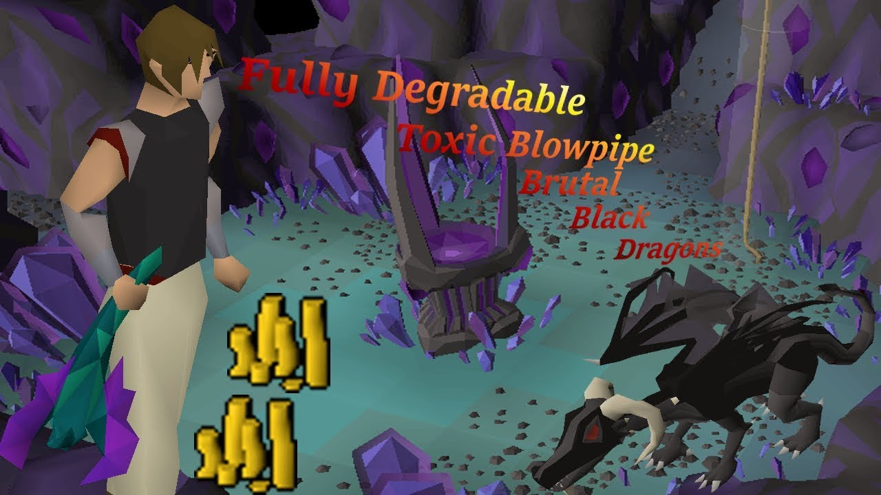 BRUTAL BLACK DRAGON ALT OSRS - Testing Out a Fresh Mining Alt