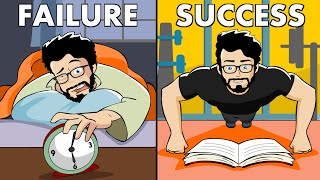 6 Habits That Will Make You Successful (Animated)