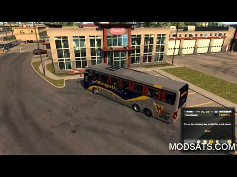 Rome 370 6X2 bus travel memory skin Mod | ATS mod