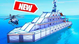 NEW YACHT Build CHALLENGE! (Fortnite Creative)