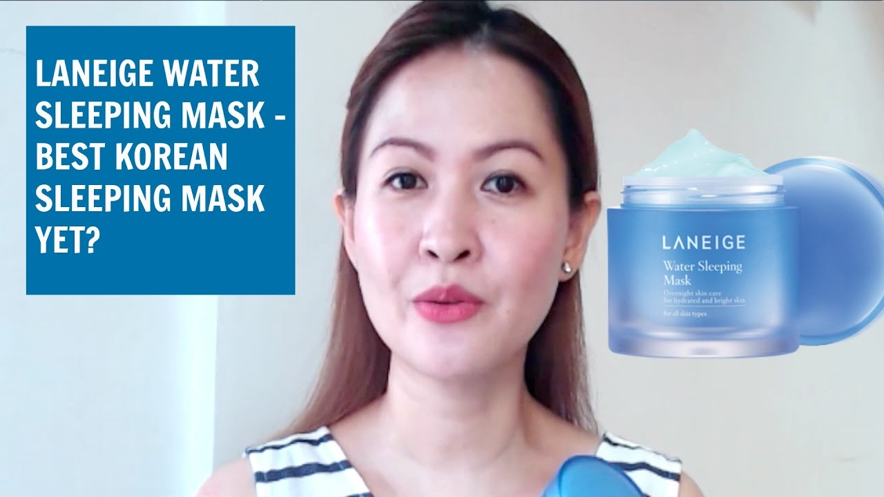 Laneige Water Sleeping Mask - Review - YouTube