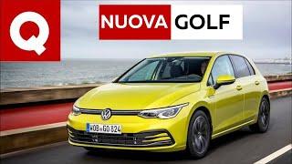 Nuova Volkswagen GOLF 8, ecco come va!