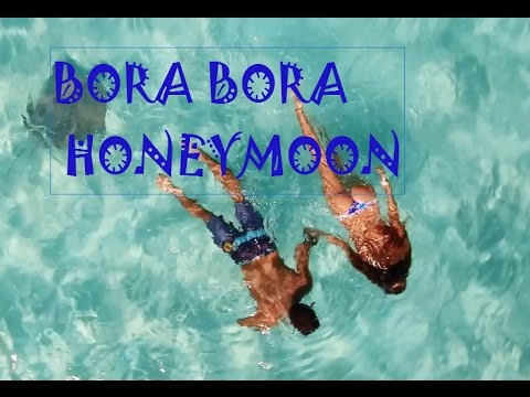AMAZING HONEYMOON IN BORA BORA! HD DRONE FOOTAGE