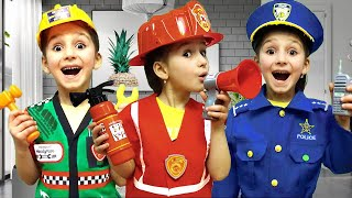Kids Professions for Children with Costumes
