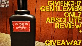 Gentlemen Only Absolute by Givenchy Review | FRAGRANCE REVIEW