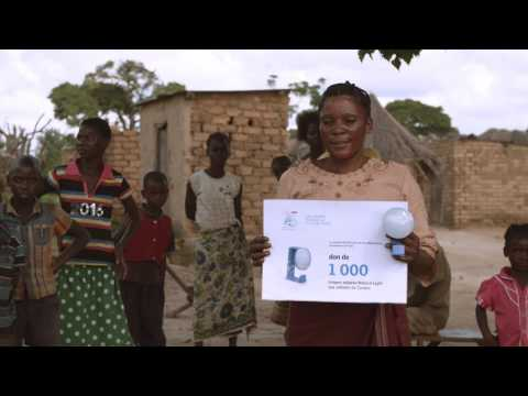 VELUX France donates Natural Light solar lamps to Malawi