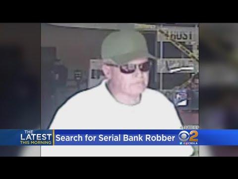Bank Robber Wanted In 5 Heists Around Santa Clarita Valley