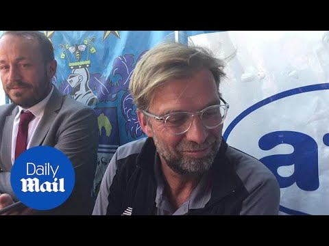 Liverpool's Jurgen Klopp talks about Reds pre-season US tour - Daily Mail