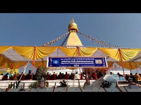 Grand Krodikali Ganacakra Boudanath Stupa 2016 7